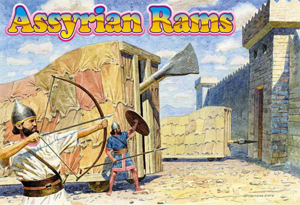 Orion Figures 1/72 Assyrian Rams (2)