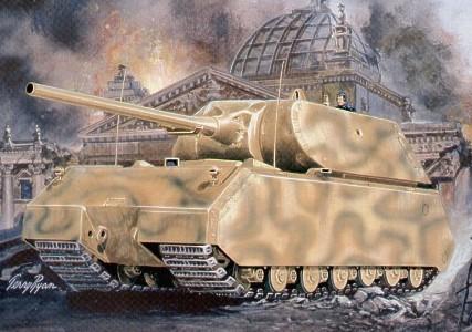 Pegasus  1/72 German Maus Tank