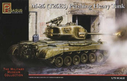 Pegasus  1/72 M26 (T26E3) Heavy Pershing Tank