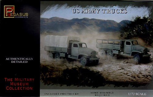 Pegasus  1/72 US Army Truck (2) (Snap)