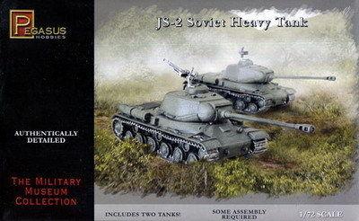 Pegasus  1/72 J2 Soviet Heavy Tank (2) (Snap)