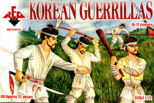 Red Box Figures  1/72 Korean Guerillas XVI-XVII Century (48)