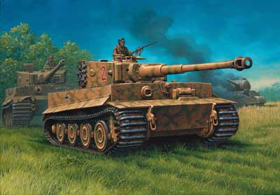 Revell 1/72 PzKpfw IV Tiger I Ausf  E (Late) Tank