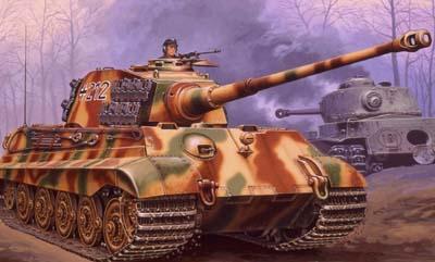 Revell 1/72 Tiger II Ausf B Heavy Tank