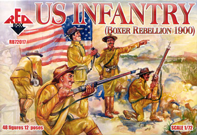 Red Box Figures  1/72 US Infantry Boxer Rebellion 1900 (48)