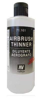Vallejo Paints 200ml Bottle Airbrush Thinner