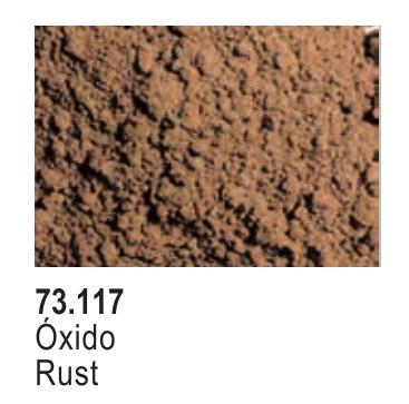 Vallejo Paints 30ml Bottle Rust Pigment Powder