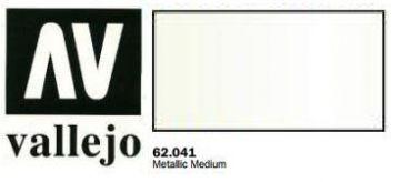 Vallejo Paints 60ml Bottle Metallic Medium Premium