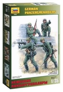 Zvezda 1/35 German Panzergrenadiers (4)