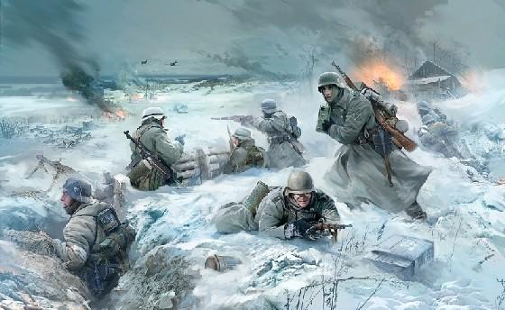 Zvezda 1/35 German Infantry Eastern Front Winter 1941-42 (4)