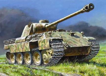Zvezda 1/35 PzKpfw V Panther Ausf D Tank