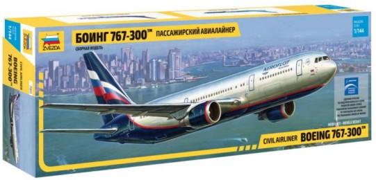 Zvezda 1/144 B767-300 Civilian Airliner