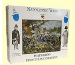 A Call To Arms Plastic 1/32 Napoleonic Wars: French Line Infantry (16)