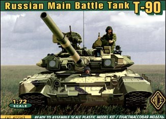 Image 0 of Ace Plastic Models 1/72 Russian T90 Modern MBT