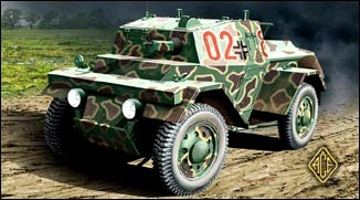 Image 0 of Ace Plastic Models 1/72 PzSpWg202(i) Lince Light Armored Army Car