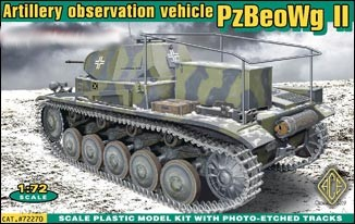 Image 0 of Ace Plastic Models 1/72 PzBeoWg II German Artillery Observation Vehicle