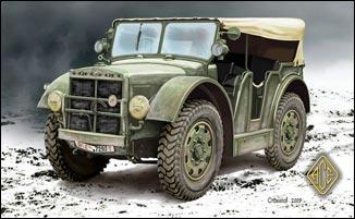 Image 0 of Ace Plastic Models 1/72 Trattore Leggero TL37 Light Artillery Vehicle