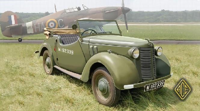 Image 0 of Ace Plastic Models 1/72 British 8HP Tourer Staff Car