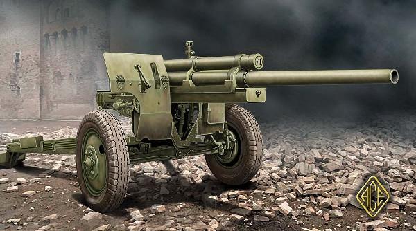 Ace Plastic Models 1/72 US M5 3 inch Anti-Tank Gun w/M1 Carriage