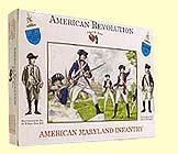 A Call To Arms Plastic 1/32 American Revolution: American Maryland Infantry (16)
