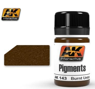 AK Interactive Burnt Umber Pigment 35ml Bottle