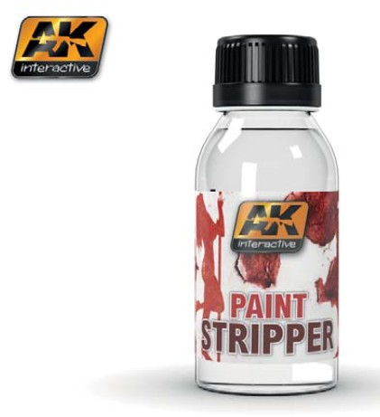 AK Interactive Paint Stripper 100ml Bottle