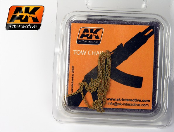 AK Interactive Rusty Tow Chain Small