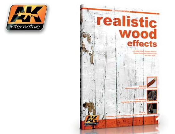 AK Interactive Realistic Wood Effects Book