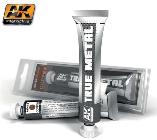 AK Interactive True Metal Wax Copper 20ml Tube
