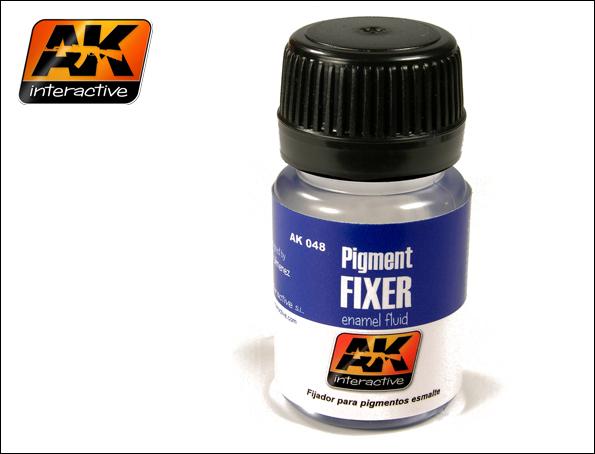 AK Interactive Pigment Fixer Enamel 35ml Bottle