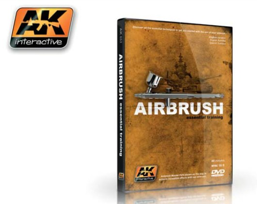 AK Interactive Airbrush Essential Training (NTSC) DVD