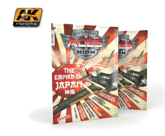 AK Interactive Aces High Magazine Issue 3: Empire of Japan