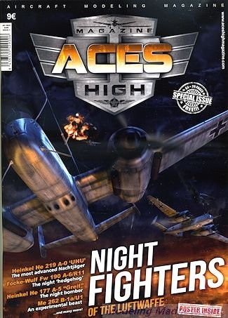 AK Interactive Aces High Magazine Issue 1: Night Fighters of The Luftwaffe