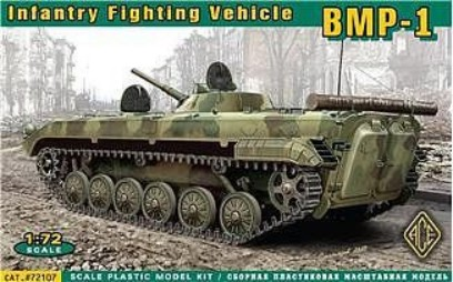 Image 0 of Ace Plastic Models 1/72 Soviet BMP1 Infantry Fighting Vehicle