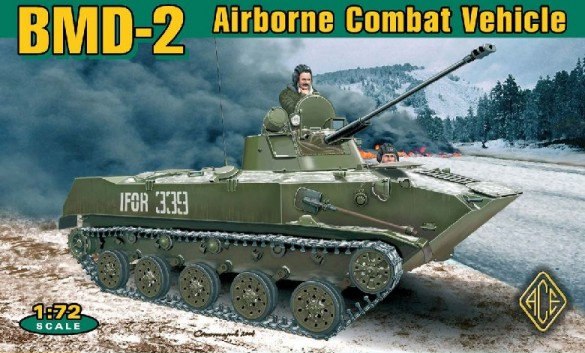 Ace Plastic Models 1/72 BMD2 Soviet Airborne Combat Vehicle