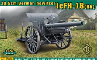 Image 0 of Ace Plastic Models 1/72 German leFH16(RH) 10.5cm WWII Field Howitzer