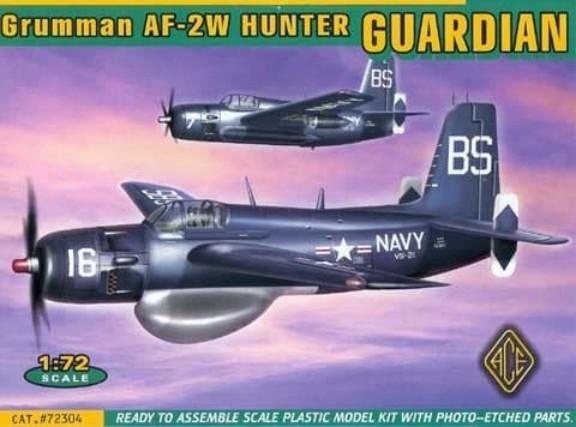 Ace Plastic Models 1/72 AF2W (Hunter) Guardian Bomber