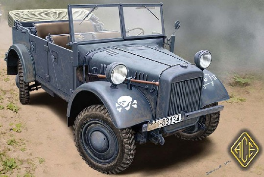 Image 0 of Ace Plastic Models 1/72 Kfz1 Le.gl. Einheits Personnel Truck