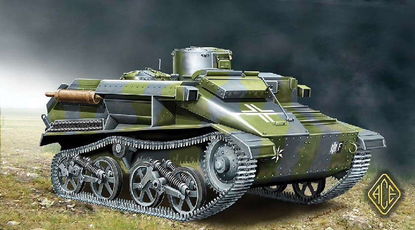 Image 0 of Ace Plastic Models 1/72 BeobachtungsPz Mk VI 736(e) Tank