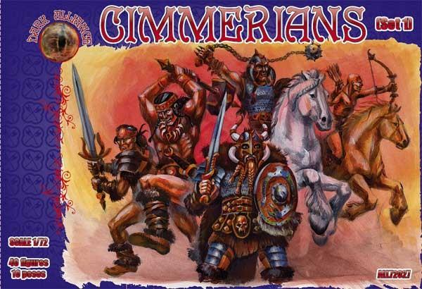 Dark Alliance 1/72 Cimmerians Set #1 Figures (40)