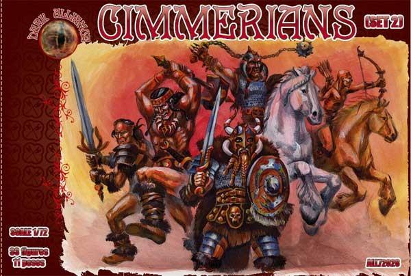 Dark Alliance 1/72 Cimmerians Set #2 Figures (33)