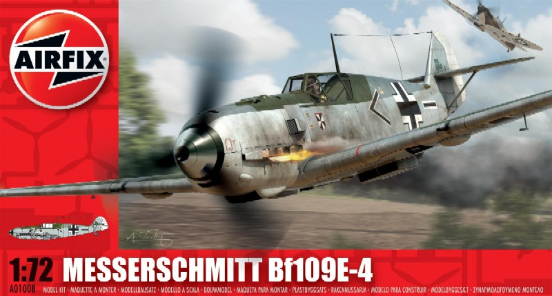 Airfix 1/72 Bf109E4 Fighter Model Kit