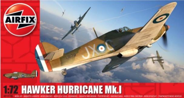Airfix 1/72 Hawker Hurricane Mk I Aircraft Model Kit