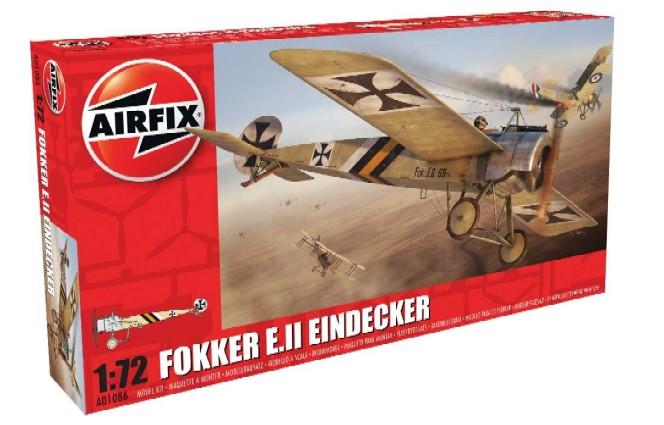 Airfix 1/72 Fokker E II Eindecker German Fighter Model Kit