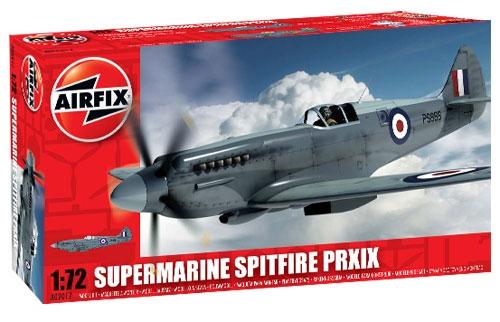 Airfix 1/72 Supermarine Spitfire PR XIX Aircraft Model Kit
