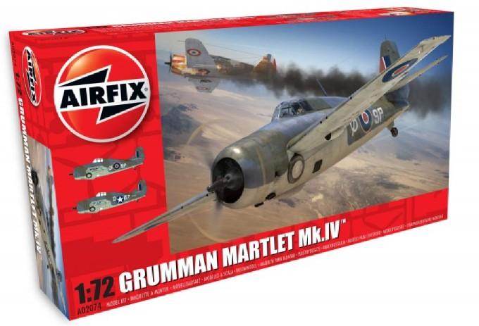 Airfix 1/72 Martlet Mk IV Fighter Model Kit