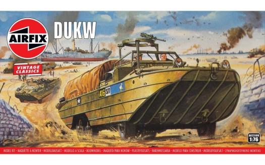 Airfix 1/76 WWII DUKW Amphibious Military Truck