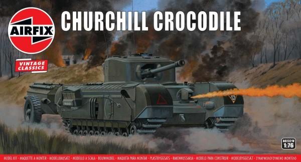 Airfix 1/76 Churchill Crocodile Flamethrower Tank