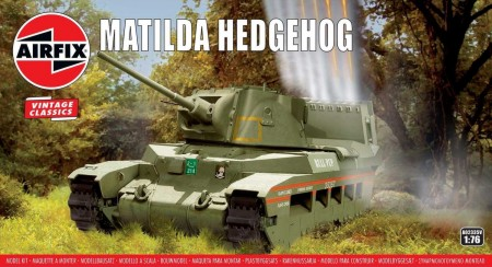 Airfix 1/76 Matilda Hedgehog Tank
