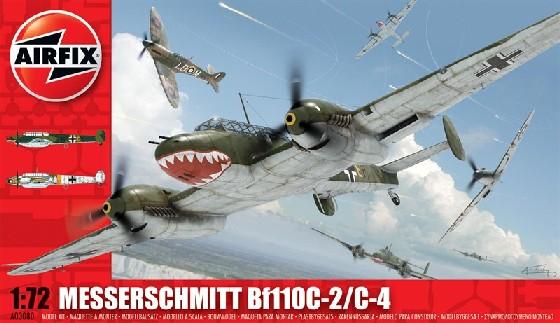 Airfix 1/72 Bf110C2/C4 Fighter Model Kit